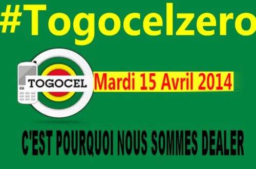 Article : TogocelZero : ne nous laissons plus faire