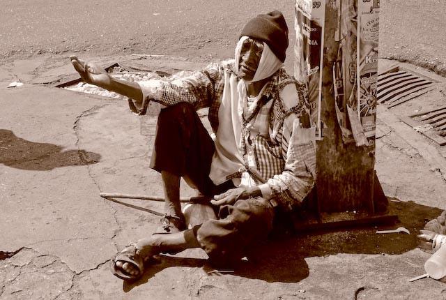 Mendiant par Chris Serour via Flickr/CC