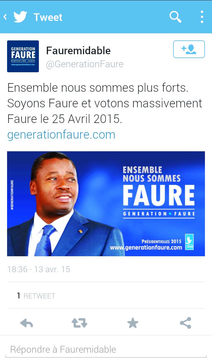 Compte Twitter @Fauremidable // Génération Faure